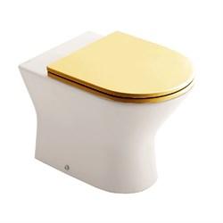 Набор Sanitana приставной INFANTIL: чаша BTW + крышка желтая - фото 11736