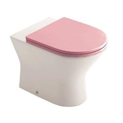Набор Sanitana приставной INFANTIL: чаша BTW + крышка розовая - фото 11742